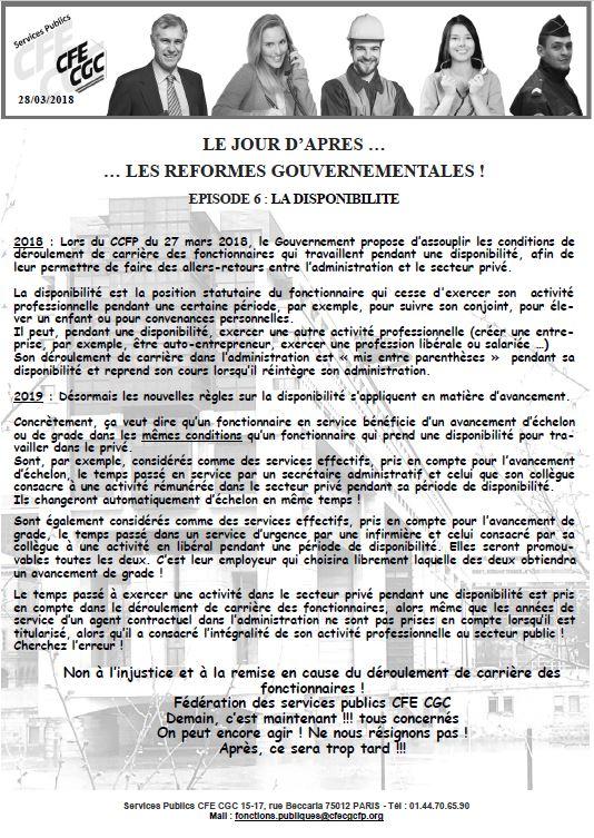 fb5cacfda3a Fonction Publique   Le jour d après... Episode 6. Les Services Publics CFE  CGC ...